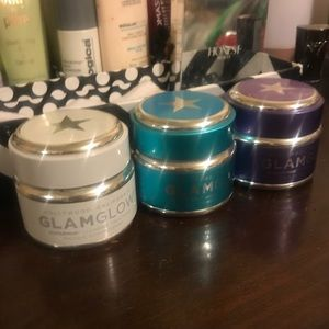Set of glam glow